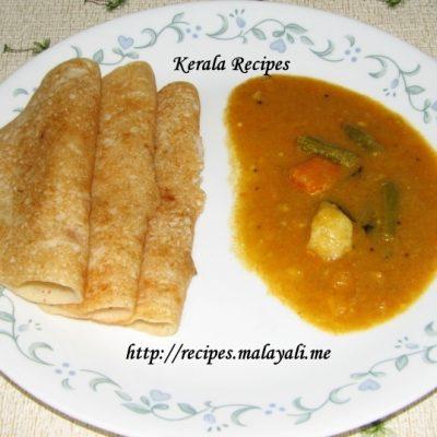 Dosa Recipe (Kerala Dosha)
