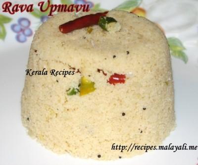 Kerala Style Rava Uppumavu