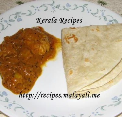 Kozhi Curry with Roti