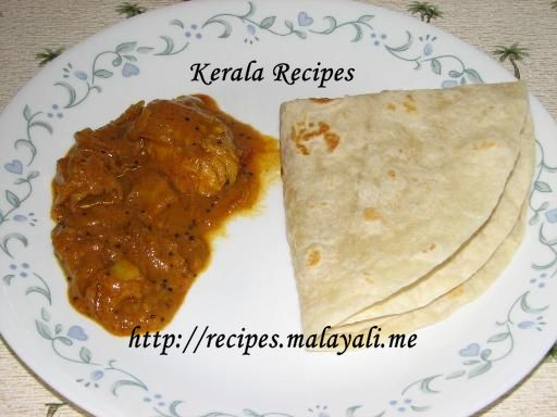 Nadan kozhi thengapal curry kerala chicken curry in coconut milk kozhi curry with roti forumfinder Gallery