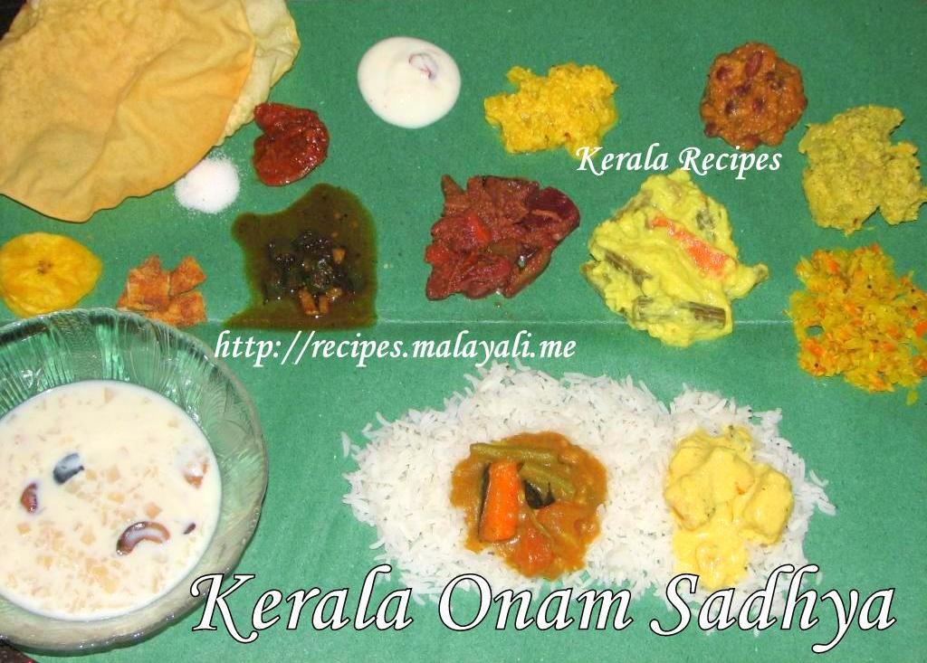 Onam kerala recipes kerala onam sadhya forumfinder Images