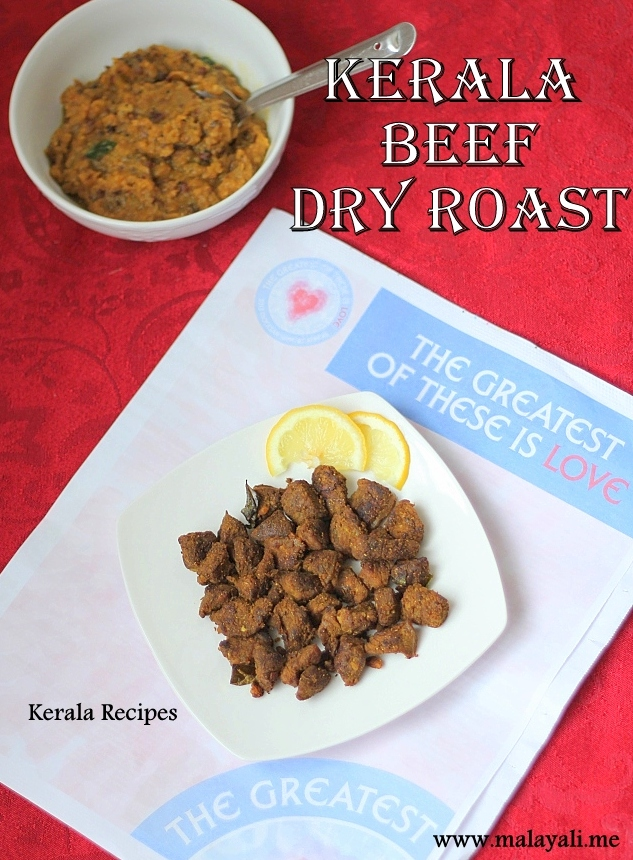 Kerala Beef Dry Roast