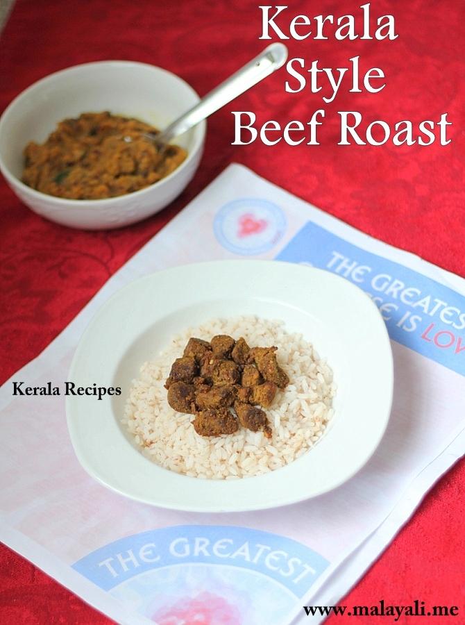 Kerala Beef Roast