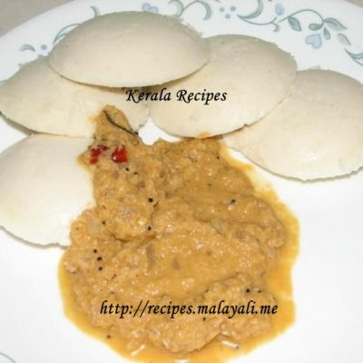 Idli with Chutney