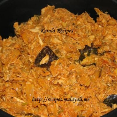 Tuna Thoran (Tuna Coconut Stir Fry)