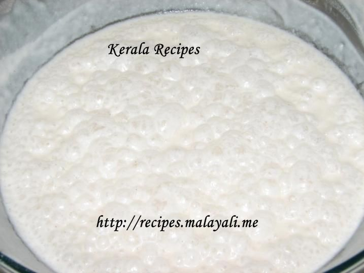 Batter for making Appam