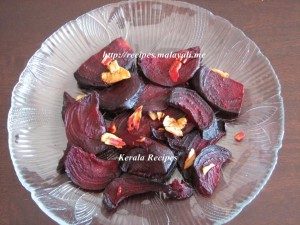 Oven Baked Beetroots