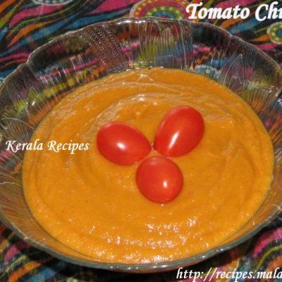 Tomato Chutney – Thakkali Chammanthi