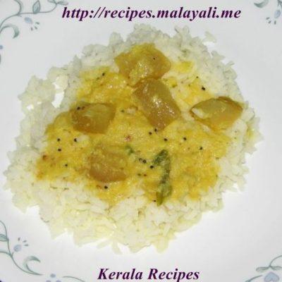 Bangalore Kathrikka (Chayote Squash) Curry