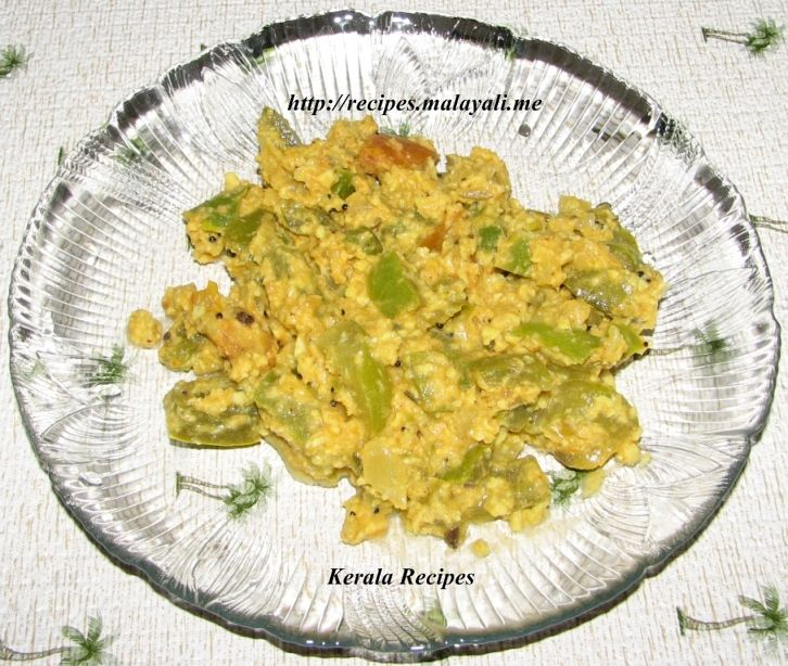 Capsicum and Coconut Stir Fry (Thoran)