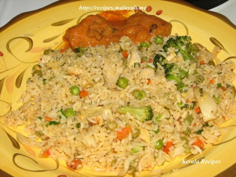 Chicken fried rice kerala recipes ccuart Image collections