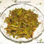 Achinga Mezhkkupuratti (Long Bean Stir Fry)