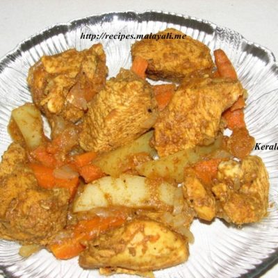 Oven Baked Chicken with Indian Spices