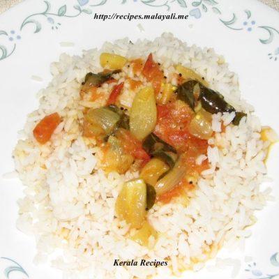 Kunjulli Thakkali Curry – Shallots Tomato Curry