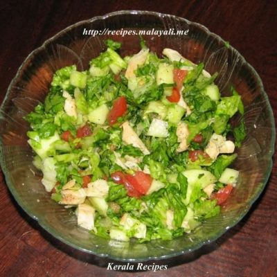 Lettuce and Chicken Salad