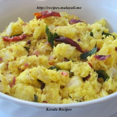 Kappa Puzhukku – Seasoned Tapioca