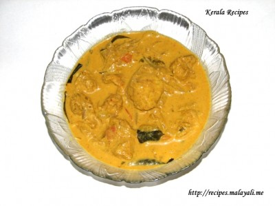 Chicken Curry in Whipping Cream