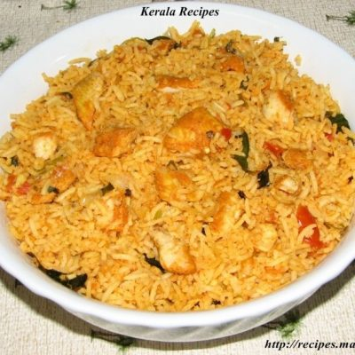 Simple Fish Biriyani
