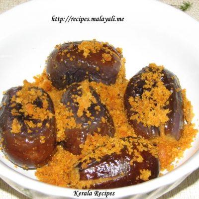 Stuffed Brinjal (Vazhuthananga)