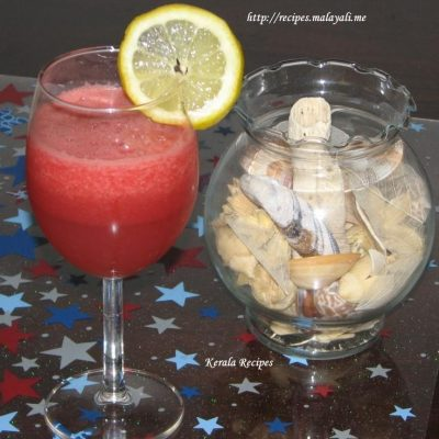 Watermelon Lemon Cooler