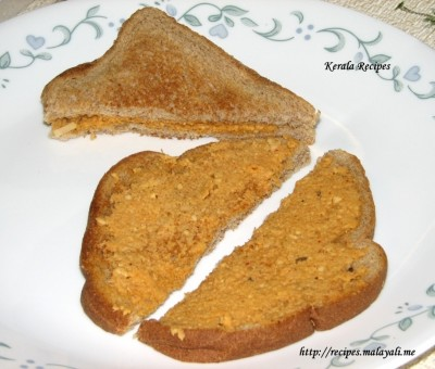 Toasted Wheat Sandwich