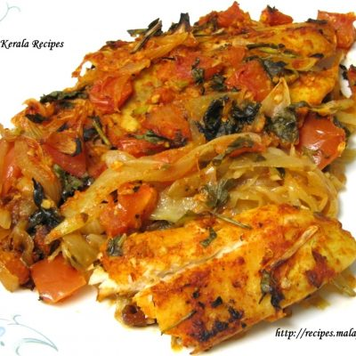 Baked Tilapia Fish with Indian Spices
