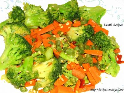 Spicy Steamed Vegetables