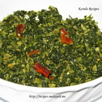Spinach/Cheera Thoran