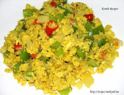 Scrambled Egg and Bell Peppers