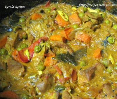 Mixed Chicken and Vegetable Curry