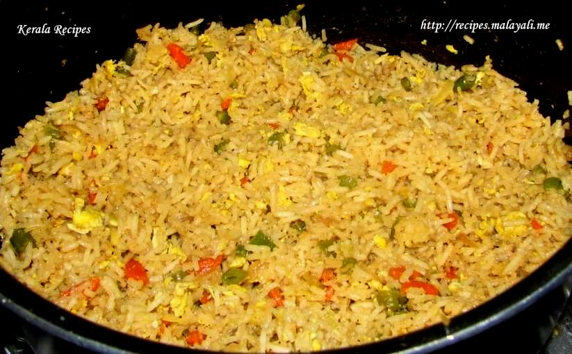 Egg fried rice kerala recipes ccuart Choice Image