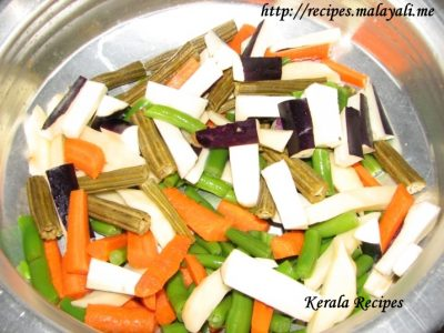 Mixed Vegeatbles for Aviyal