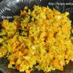 Cabbage Carrot Thoran