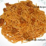Sun dried Tomato and Sausage Spaghetti