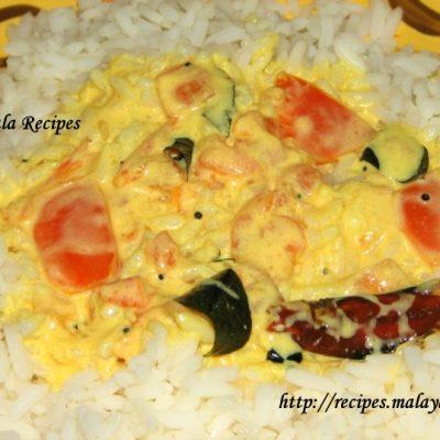Tomato Moru Curry (Tomato & Yogurt Curry)
