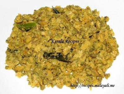 Green Gram Stir Fry - Cheru Payaru Mezhkkuvaratti