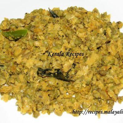 Cheru Payaru Mezhkkupuratti (Green Gram Stir Fry)