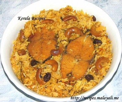 Spicy Fish Biryani