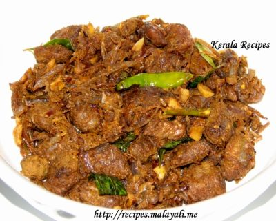 Kerala Beef Fry (Ulathiyathu)
