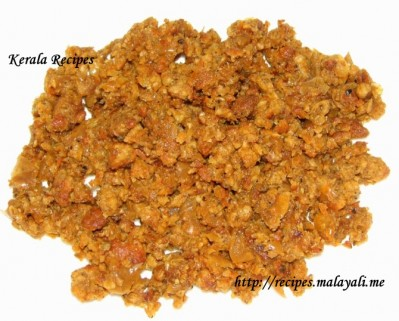 Minced Sausage Fry