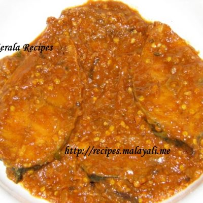 Spicy Red Chilly Fish Masala