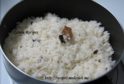Cooked Basmathi Rice