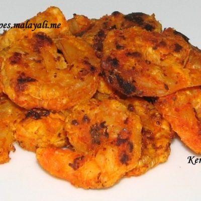 Pan Fried Masala Shrimps