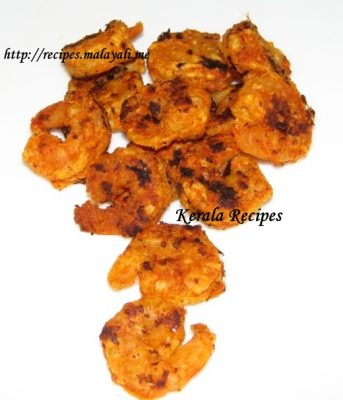 Lightly Fried Shrimps