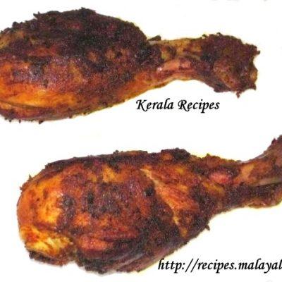 Kerala Chicken Fry (Kozhi Porichathu)