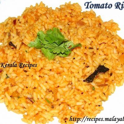 Tomato Rice (Thakkali Choru/Sadham)