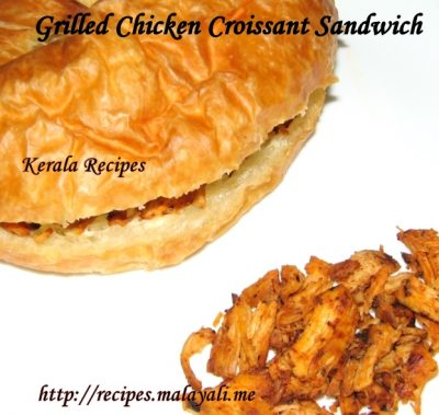 Grilled Chicken Croissant Sandwich