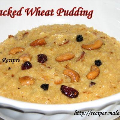 Broken/Cracked Wheat Payasam (Godhambu Rava Payasam)