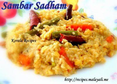 Sambar Sadham