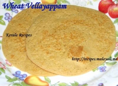 Wheat Vellayappam